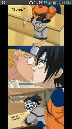 Naruto memes. Hahahahahaha and I don't think anyone even knows that poor kid's name.