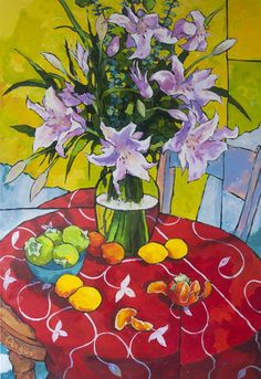 Angus Wilson Studio: Two Big Endevours Still Life Drawing, Still Life Art, Wilson Art, Arte Floral, Painting Inspiration, Unique Art, Flower Art, Landscape Paintings, Colorful Backgrounds