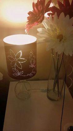 Lata reciclada como lámpara #reciclaje #decoracion