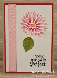 Creating Cards with Andrea: ESAD 2017 Occasions Catalogue and Sale-A-Bration Sneak Peek Making Greeting Cards, Get Well Cards, Cute Cards, Cards Diy, Handmade Birthday Cards, Scrapbook Cards, Scrapbooking, Stamping Up, Flower Cards