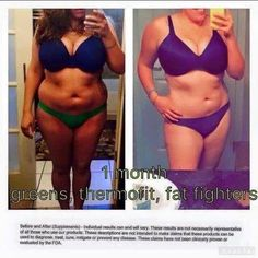 1 Month of Greens, Thermofit, & Fat Fighters!  To order: http://www.fitwithemily.myitworks.com/