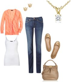 Spring outfit for weekends. easy and put together looking