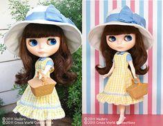 Blythe Doll Petit De'Jeuner Champs Elysees 2011