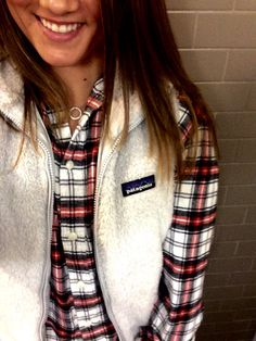 Flannel and fleece, two of my faves