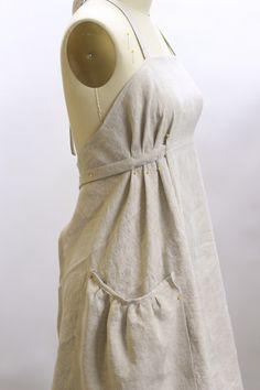 Sewing Pattern Insiration ::: Linen Pinafore Apron Shift Dress - Sewing Pattern Insiration ::: Linen Pinafore Apron Shift Dress Source by alisewmamashop - Diy Clothing, Clothing Patterns, Dress Patterns, Sewing Patterns, Apron Patterns, Linen Dress Pattern, Sewing Aprons, Sewing Clothes, Dress Sewing