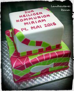 Christening Cake / Torte Zur heiligen Kommunion Mosaik Design