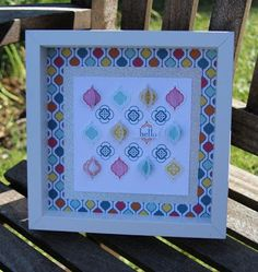 Mosaic Madness Home Decor from Stampin' Up!