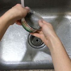 She rinses her tuna cans with dish soap for this insanely gorgeous idea