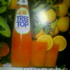 Do you remember Tree Top orange squash? The botle was shaped like a Lava Lamp.