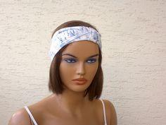 Turban headband strech fabric headband girls by KnitterPrincess
