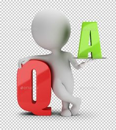 Buy Small People - Question and Answer by AnatolyM on GraphicRiver. small person with the letter Q and A. Transparent high resolution PNG with shadows. Digital Technology, Technology Logo, Question And Answer, This Or That Questions, 3 D, Graphic Design, Lettering, People, Walt Disney