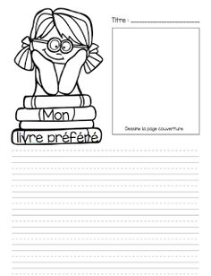 Atelier d'écriture Le cahier de Pénélope French Teacher, Teaching French, French Worksheets, French Kids, Bell Work, French Education, Core French, French Classroom, Writers Notebook