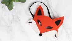 Vous souhaitez fabriquer un masque renard en feutrine pour Carnaval ? Découvrez le DIY que j'ai imaginé pour vous avez A Little Mercerie.