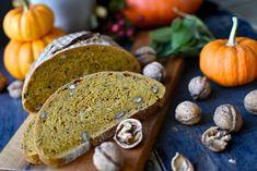 Podzimní dýňový kváskový chléb s ořechy a šalvějí – Bohyně kuchyně Bread, Food, Brot, Essen, Baking, Meals, Breads, Buns, Yemek
