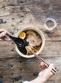 Kinfolk  Homemade noodle soup.