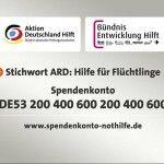 Spenden: Hilfe für Flüchtlinge | BITTE ANKLICKEN