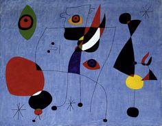Art from Spain - Joan Miró (Barcelona, 20 de abril de 1893-Palma de Mallorca, 25 de diciembre de 1983) fue un pintor, escultor, grabador y ceramista español, considerado uno de los máximos representantes del surrealismo.