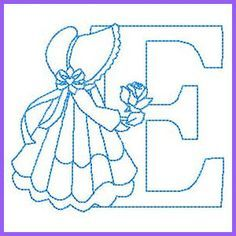 Grand Sewing Embroidery Designs At Home Ideas. Beauteous Finished Sewing Embroidery Designs At Home Ideas. Alphabet Quilt, Embroidery Alphabet, Embroidery Monogram, Machine Embroidery Patterns, Quilt Patterns Free, Vintage Embroidery, Embroidery Applique, Embroidery Ideas, Sewing Patterns