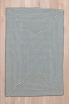 Indoor/Outdoor Square Grid Rug - Urban Outfitters roof deck