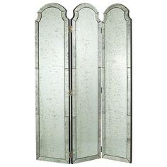 Venetian Mirrored Screen