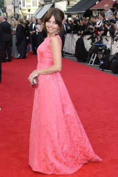 Pin for Later: Red Carpet Recap: What Everyone Wore to the 2014 TV BAFTAs Ophelia Lovibond