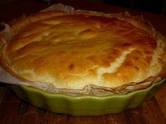 Une souris dans ma cuisine, le blog d'Elise: Ma tarte soufflée au Comté