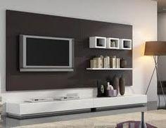 Elegant, Contemporary, and Creative TV Wall Design Ideas Living Room Modern, Home And Living, Living Room Designs, Tv Wall Design, House Design, Garden Design, Bedroom Tv Stand, Modern Entertainment Center, Rack Tv