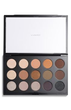 Create a multitude of different looks with this eyeshadow palette by MAC. Love the neutral shades and pops of color!