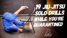 19 Jiu-Jitsu Solo Drills While You're Quarantined Jiu Jitsu Gym, Jiu Jitsu Moves, Jiu Jitsu Belts, Ju Jitsu, Judo Training, Jiu Jitsu Training, Strength Training, Martial Arts Workout, Martial Arts Training
