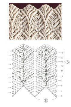 Crochet Scarf Diagram, Crochet Lace Scarf, Crochet Motifs, Crochet Stitches Patterns, Crochet Chart, Knitting Patterns Free, Free Crochet, Stitch Patterns, Free Pattern