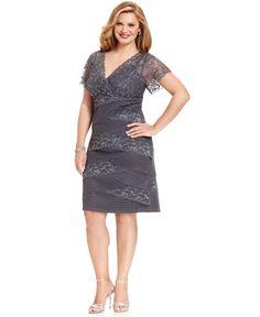 2f30a2f013d Turmec » trixxi plus size cap sleeve lace a line dress
