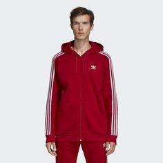 adidas Adicolor Red SST Track Jacket #adidas