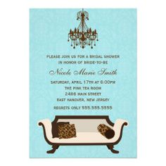 Invitation wording for when guests pay for their meal pinterest chic bridal shower invitation stopboris Images