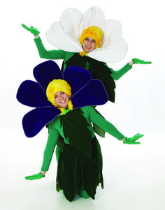 Flowers Costumes - Alice in Wonderland Theatre Rental from $39-53 per costume