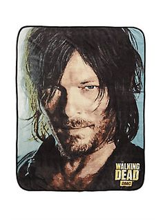 The Walking Dead Daryl Face Throw,