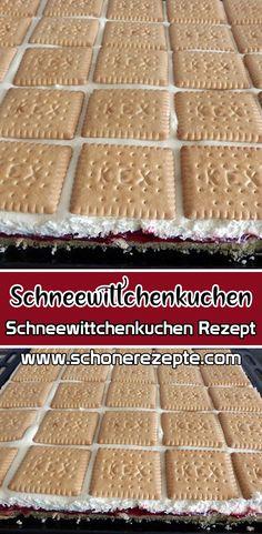 Schneewittchenkuchen Rezept – Einfache Schneewittchenkuchen Rezepte Snow White Cake Recipe – This great recipe is suitable for all sweet tooths. The juicy Snow White cake is a heavenly dessert. Quick and easy Snow White cake recipes. Easy Vanilla Cake Recipe, Easy Cake Recipes, Muffin Recipes, Cookie Recipes, Cheesecakes, Cake Recept, Snow White Cake, Vegan Scones, Scones Ingredients