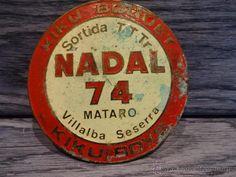 CURIOSA PLACA KIKU BOQUET. SORTIDA TTTR NADAL 74. MATARÓ-VILLALBA SESERRA