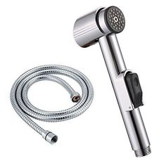 Delicious Electric Water Heater Parts Silver Color Chrome Shower Head With 3 Mode Function Spray Anti-limescale Universal Handheld Home Home Appliances Home Appliance Parts