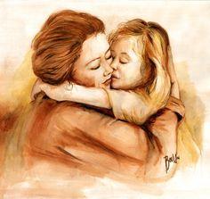 mãe e filha desenho - Pesquisa Google
