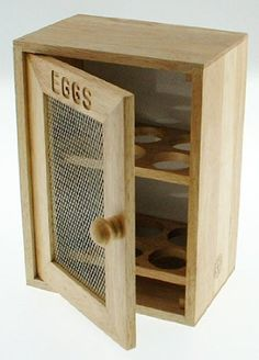 Stylish Wooden Egg Holder Cabinet Cupboard - Storage Rack rubiesofuk http://www.amazon.co.uk/dp/B003O969OU/ref=cm_sw_r_pi_dp_QxZYvb0GGG04E