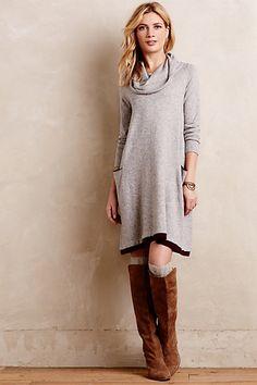Anthropologie Catalog: December 2014 Lookbook Awesome comfy dress