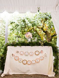 just married sweetheart table | Garden Tea Party Wedding | Photography: Courtney Bowlden Photography | Event Designer & Coordinator: Perfectly Posh Events |Venue: Robinswood House |  Flowers: Sublime Stems |  Cake: Midori Bakery |  Caterer: Herban Feast |  Prop/Furniture Rentals: Vintage Ambiance