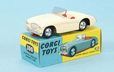 Mettoy Corgi Toys No.300 Austin Healey Sports Car 1956-65