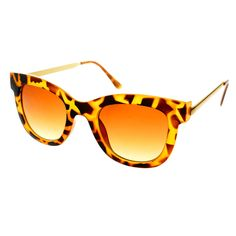 Retro Fashion Designer Womens Metal Arms Cat Eye Sunglasses C1020
