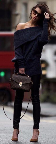 black on black cashmere jeans