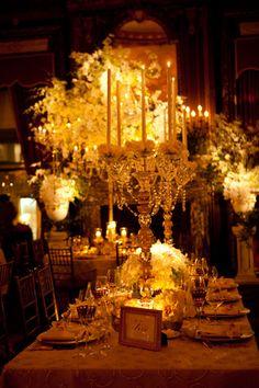 """Golden Opulence"" wedding by David Tutera"