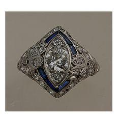Beautiful antique ring circa 1920