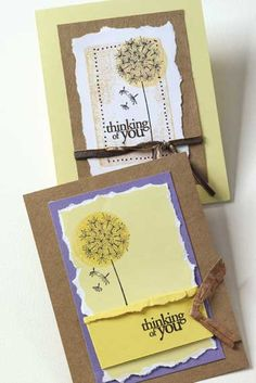 *Hero Arts Rubber Stamp DANDELION Flower Seed G4917