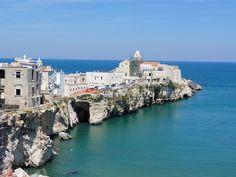 Vieste on the Gargano Peninsula, Puglia
