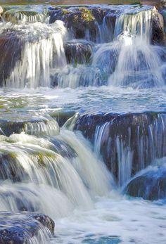 Cascading Waters Photograph by Deb Halloran #fineart #landscapephotography #waterfalls #debhalloran